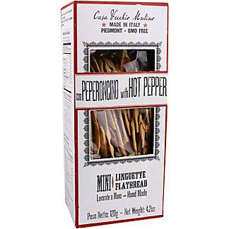 Casa Vecchio Mulino Mini Hot Pepper Linguette Flatbread Crisps, 4.2 oz