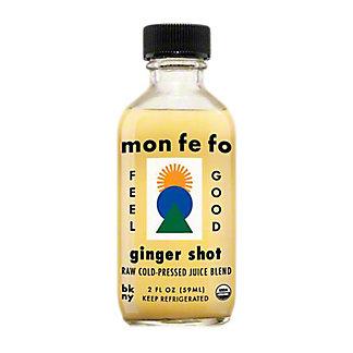 Monfefo Raw, Cold-Pressed Ginger Shot, 2  fl oz