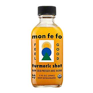 Monfefo Raw, Cold-Pressed Turmeric Shot, 2 fl oz