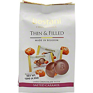 Bostani Dark Chocolate With Caramel, 4.2 oz