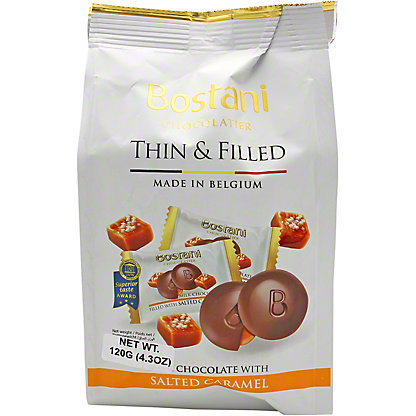Bostani Milk Chocolate With Caramel, 4.2 oz