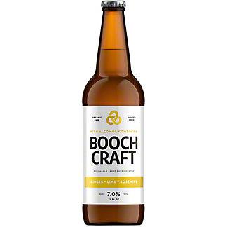 Boochcraft Ginger High Alcohol Kombucha, Bottle, 22 fl oz