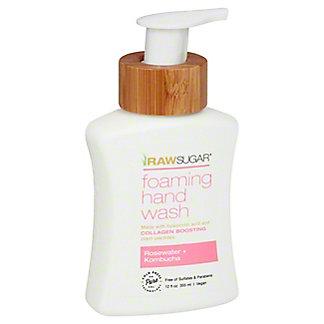 Raw Sugar Rosewater & KombuchaFoaming Hand Soap, 12 oz