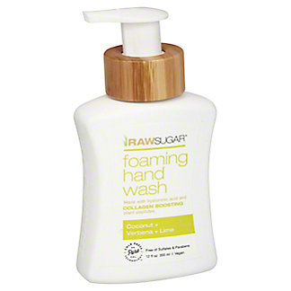 Raw Sugar Lime & Lemon Verbena Foaming Hand Soap, 12 oz