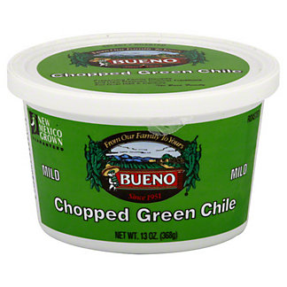 Bueno Mild Chopped Green Chile, 13 oz