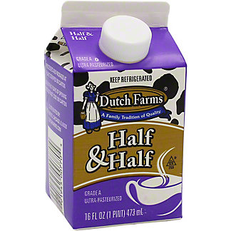 Dutch Farms Half & Half , 16 fl oz