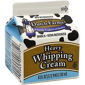 Dutch Farms Heavy Whipping Cream, 8 oz
