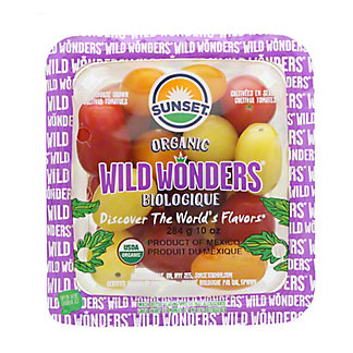 Sunset Wild Wonders Organic Biologique tomatoes, 10 oz
