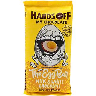 Hands Off My Chocolate The Egg Bar Milk & White Chocolate, 3.5 oz