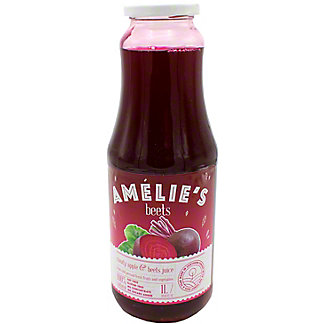 Amelie's Cold Pressed Cloudy Apple & Beet Juice, 33.81 oz