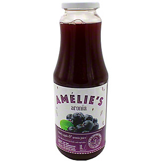 Amelie's Cold Pressed Cloudy Apple & Aronia Juice, 33.81 oz