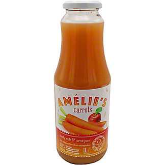 Amelie's Cold Pressed Cloudy Apple & Carrot Juice, 33.81 oz