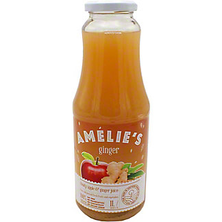 Amelie's Cold Pressed Cloudy Apple & Ginger Juice, 33.81 oz