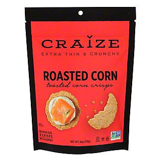 Craize Roasted Corn Crisps, 4 oz