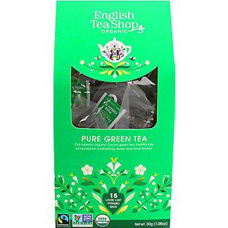English Tea Shop Organic Pure Green Tea, 15 ct