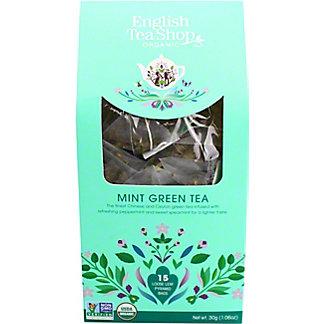 English Tea Shop Organic Mint Green Tea, 15 ct