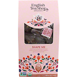 English Tea Shop Organic Shape Me Tea  , 15 ct