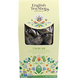 English Tea Shop Organic Calm Me Tea, 15 ct