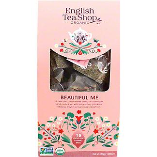 English Tea Shop Organic Beautiful Me Tea, 15 ct