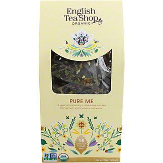English Tea Shop Organic Pure Me Tea, 15 ct