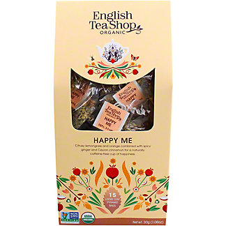 English Tea Shop Organic Happy Me Tea, 15 ct