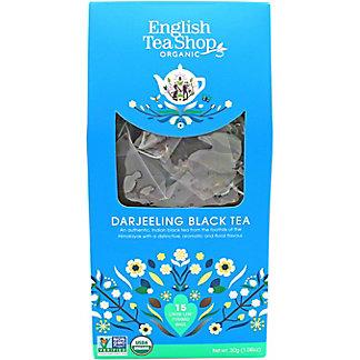 English Tea Shop Organic Darjeeling Black Tea, 15 ct