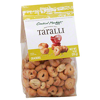 Central Market Puglia Taralli Crackers, 9 oz
