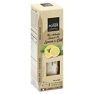 Maison Potier Lemon & Dill Sauce, 3.52 oz
