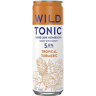 Wild Tonic Tropical Turmeric Can, 12 fl oz