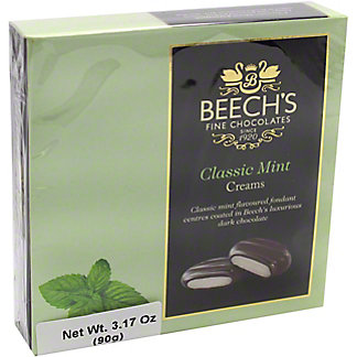 Beech's Fine Chocolates Classic Mint Creams, 90 gr