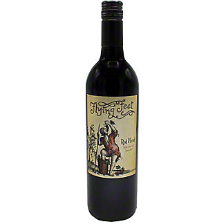 Flying Feet Red Blend, 750 mL