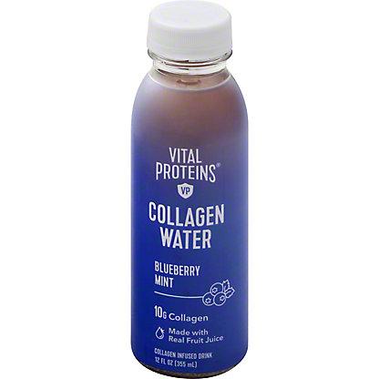 Vital Proteins Blueberry Mint Water Collagen, 12 oz