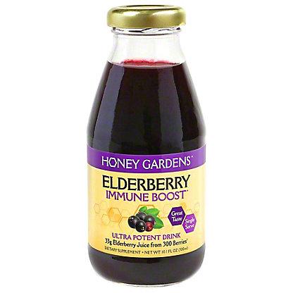 Honey Gardens Elderberry Immune Boost Drink, 10.1 fl oz