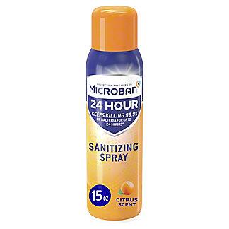 Microban CitrusSanitizing Spray, 15 oz