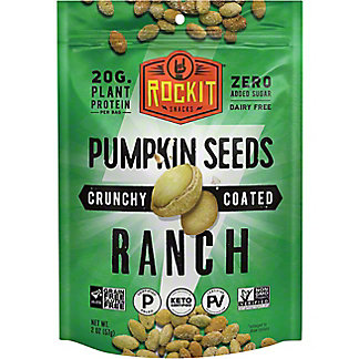 Rock It Crunchy Coated Pumpkin Seeds With Ranch, 2 oz