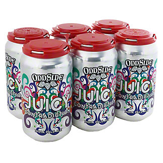 Odd Side Ales Juicy Contradiction India Pale Ale Seasonal Beer 12 oz Cans, 6 pk