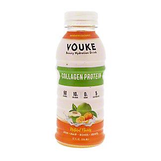 Vouke Mandarin Coconut Collagen Drink, 12 oz