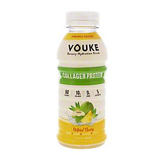 Vouke Pineapple Coconut Collagen Drink, 12 oz