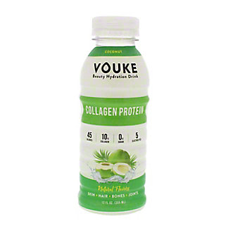 Vouke Coconut Collagen Drink, 12 oz