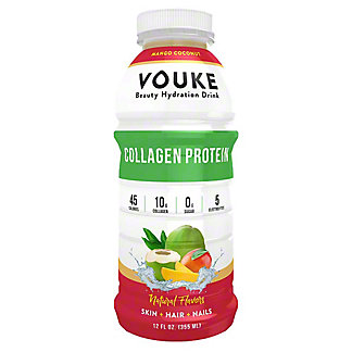 Vouke Mango Coconut Collagen Drink, 12 oz