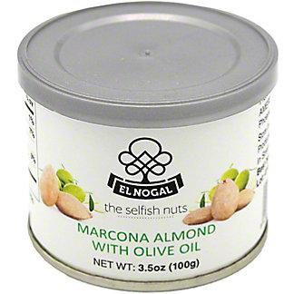 El Nogal Extra Virgin Olive Oil Salted Marcona Almonds, 3.5 Oz
