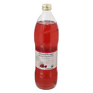 Central Market Raspberry Creme Organic Italian Soda, 750 mL