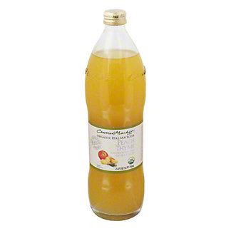 Central Market Peach Thyme OrganicItalian Soda, 750 mL