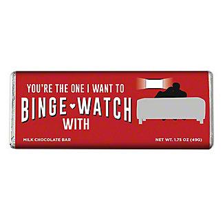 Amusemints Binge Watch Milk Chocolate Bar, 1.75 oz