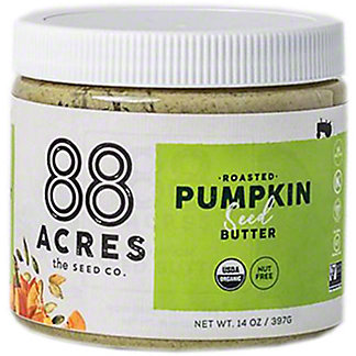 88 Acres Organic Pumpkin Seed Butter, 14 oz