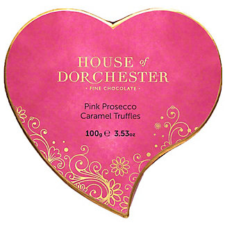 House Of Dorchester Pink Prosecco Caramel Truffles, 3.53 oz