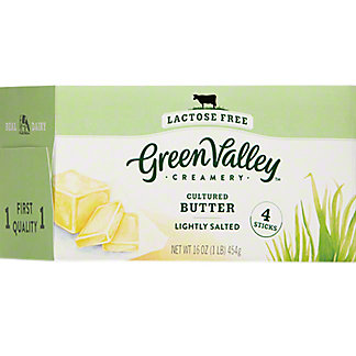 Green Valley Organics Butter Lactose Free , 16 oz