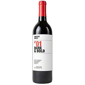 Obvious Wines No3 Dark & Bold, 750 ml