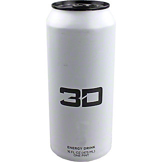 3D Frost Energy Drink, 16 oz
