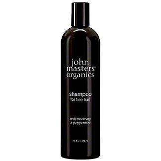 John Masters Organics Shampoo Fine Hair Rosemary & Peppermint, 8 fl oz